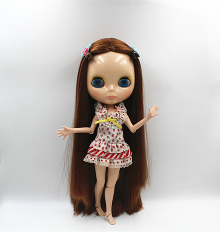 Free Shipping BJD joint RBL-378J DIY Nude Blyth doll birthday gift for girl 4 colour big eyes dolls with beautiful Hair cute toy free shipping bjd joint rbl 415j diy nude blyth doll birthday gift for girl 4 colour big eyes dolls with beautiful hair cute toy