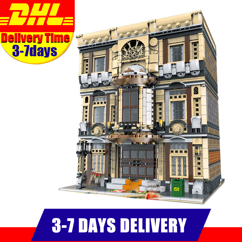 IN Stock XingBao 01005 5052PCS MOC City Series The Maritime Museum Set Children Building Blocks Bricks Toys Model Gifts