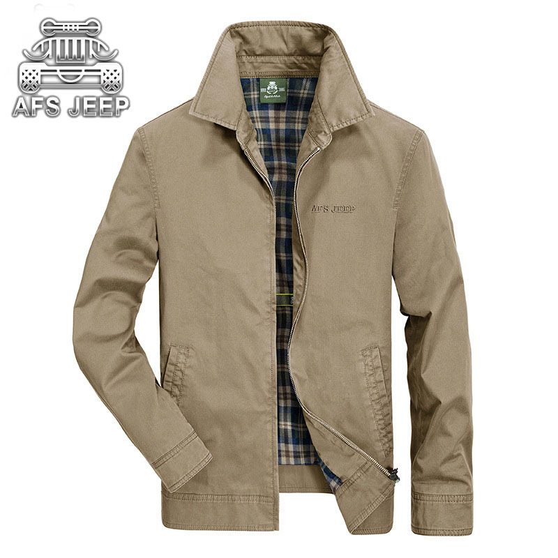 Business Casual Men Jackets Denim New 2017 Spring Autumn Loose Size 4XL soft Shell Military Brand AFS JEEP aeronautica militare plus size 42 men denim jeans new 2017 autumn brand afs jeep loose free type breathable male casual clothing pantacourt homme