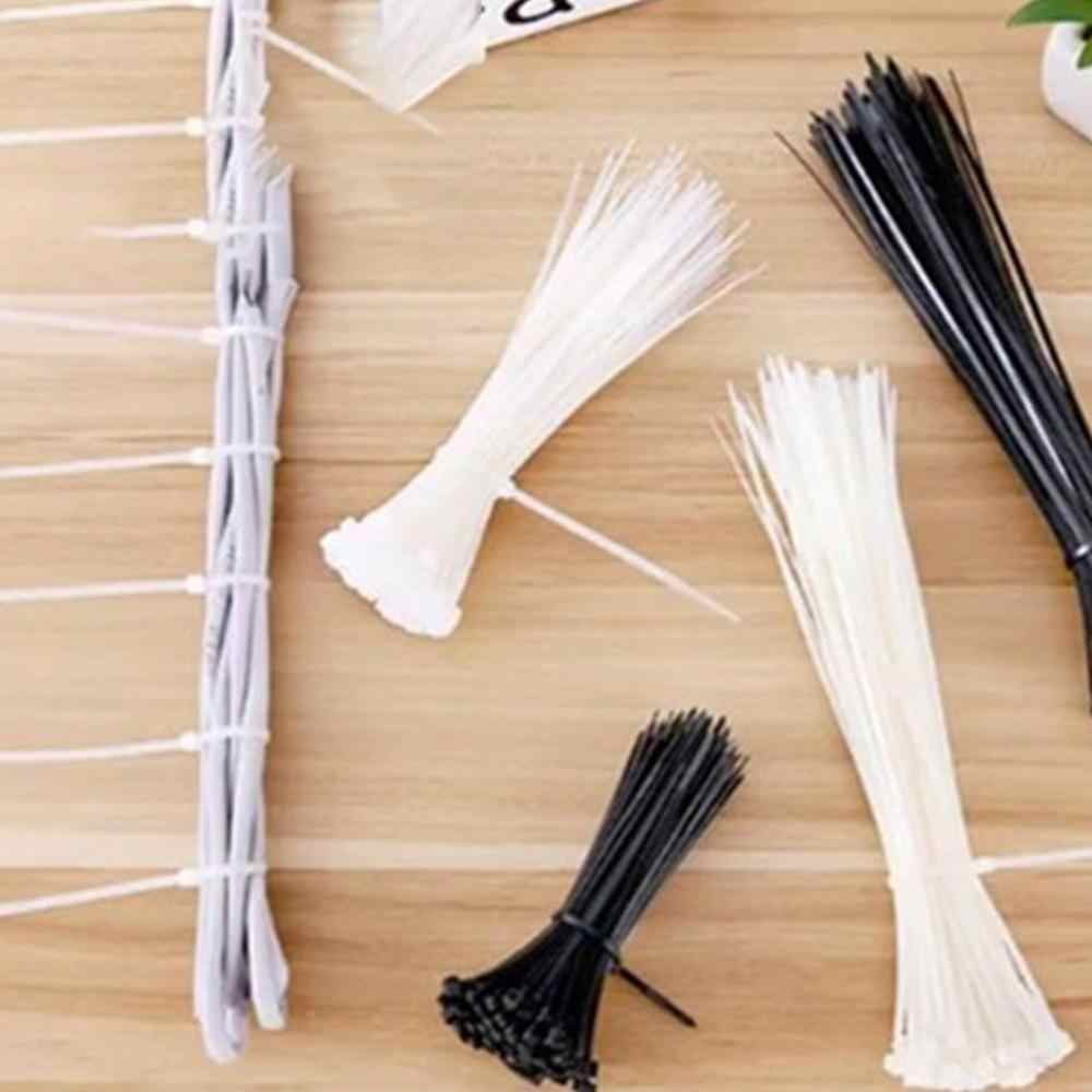 Self Locking Nylon Cable Ties Cable Management Wire Storage Tying Wire  Harness Cable Wire Zip Ties 40 Pieces