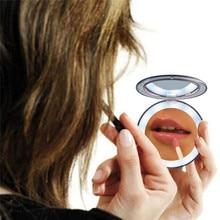 Комод для спальни набор светодиодный зеркало для макияжа с лампой макияж туалетный столик 3 раза увеличительное стекло Индукционное освещение макияж зеркало