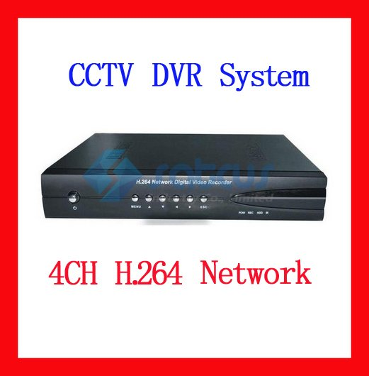 4 Channel Network Security DVR 120FPS H.264 CCTV 4CH