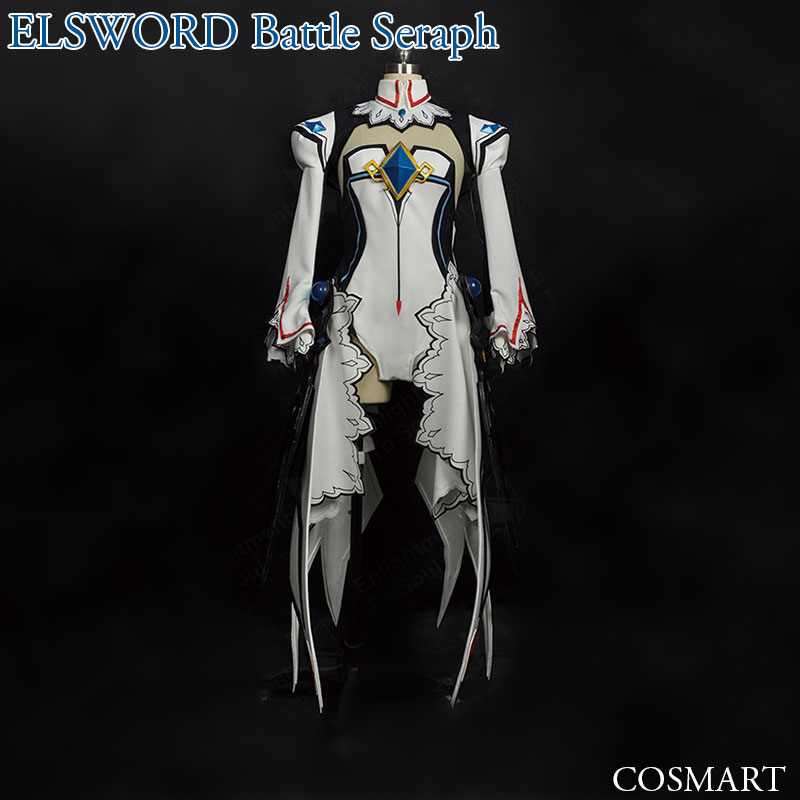 [Pre-sale Customize]Game ELSWORD Battle Seraph cosplay costume Full Set New 2018 free shipping