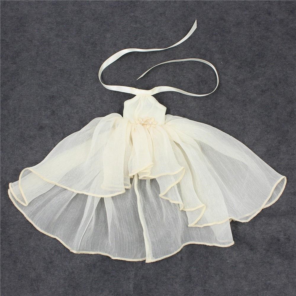 Neo Blythe Doll Chiffon Dress with Flower 19