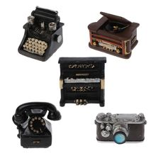 Newborn Photography Props Infant DIY Studio Accessories Retro Resin Mini Small Decoration Creation Gentlemen Camera