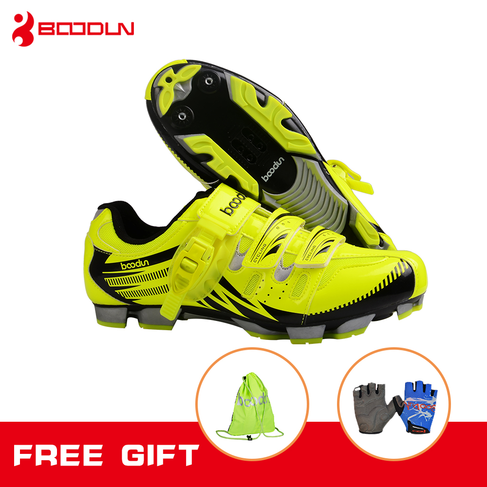 Boodun Breathable Mountain Cycling Shoes Summer Leisure Sports Outdoor MTB Road Bike Bicycle Lock Shoes Riding Shoes Men&Women