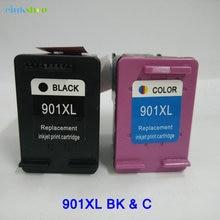 2PK For HP 901 Ink Cartridge Officejet 4500 4600 J4580 J4550 J4540 J4680 J4524 J4535 J4585 J4624 J4660