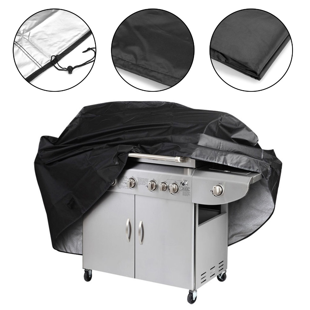 Aliexpress Com Buy Black Waterproof Bbq Grill Barbecue