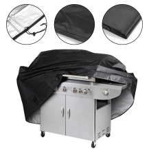 Black Waterproof BBQ Grill Barbecue Cover Accessories Grill Cover Anti Dust Rain Gas Charcoal Electric Barbecue Grill Bag 13000gs universal magnetic golf detacher magnet security tag remover for eas system mini hook detacher pocket handheld detacher
