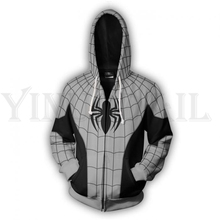 Men and Women Zip Up Hoodies Spiderman 3d Print Hooded Jacket Mravel 4 Movie Superheroes Sweatshirt Costume Harajuku Streetwear