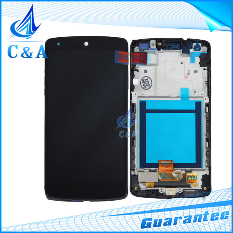 ФОТО replacement parts for LG Google Nexus 5 D820 D821 lcd screen display with touch digitizer with frame 10 pcs free shipping