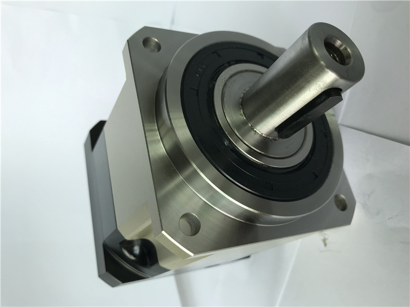 5 acrmin high Precision Helical gear planetary reducer gearbox 10 1 for 80mm 750W AC servo motor input shaft 19mm AB090 10 S2 P2 in Speed Reducers from Home Improvement