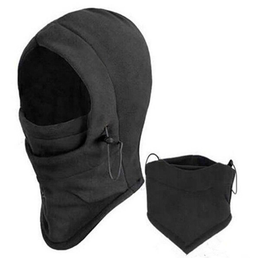 Winter Wamer Sports Face Mask   Skullies     Beanies   Women Men Fleece Scarf Neck Caps Casual Cotton Balaclava Mask Hats
