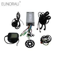 دراجة كهربائية البريد الدراجة تحويل عدة تحكم نظام تحكم ل 48V750W/1000 واط المحور المحرك كيت