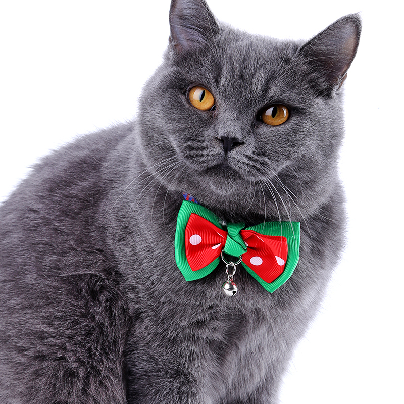Adjustable British Style Pet Bow Tie Cat <font><b>Dog</b></font> Collar Bell <font><b>Accessories</b></font> Pet Grooming <font><b>Accessories</b></font> <font><b>China</b></font> Bow For <font><b>Dog</b></font> Teddy Pomeranian image
