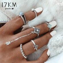 Антикварное кольцо 17KM 2016 Fashion 6