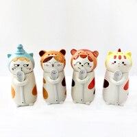 400 ml keramik kreative Cartoon hund katze Tee kaffee becher tiermilch becher wohnkultur handwerk dekoration porzellan figurine geschenke