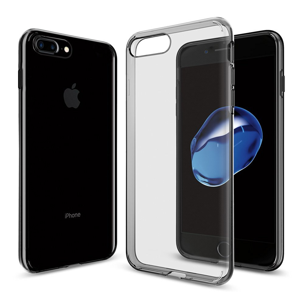 "imágenes para 100% original SPIGEN Liquid Armor para iphone 7 plus (5.5 "") claridad superior delgado ligero flexible durable casos"