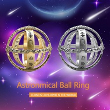 16 век Германия астрономическое кольцо-Ретро космическое кольцо на палец пара Любовник Ювелирные изделия Подарки дропшиппинг