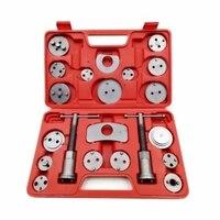 21Pcs Universal Disc Brake Caliper Piston Pad Car Rewind Wind Back Auto Repair Tool Kit