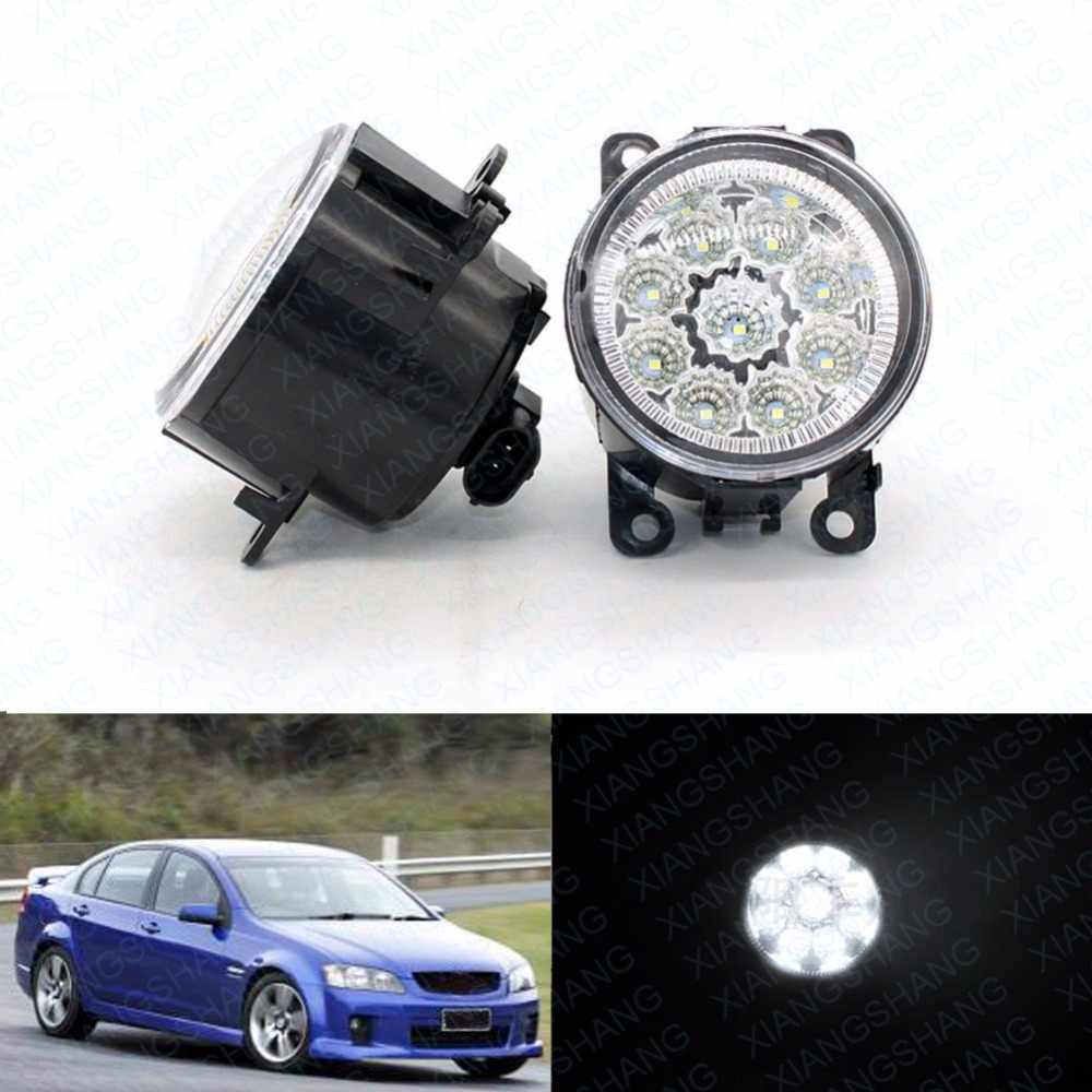 LED Front Fog Lights For HOLDEN COMMODORE Saloon (VZ) 2004/09 - 2006/07 Car  Styling Round Bumper DRL Daytime Running Driving