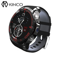 KINCO 1.3inch GPS Pedometer 512MB 4G WIFI Waterproof Heart Rate Monitor Camera Andriod 5.1 SIM Card Bluetooth Smartwatch Phone