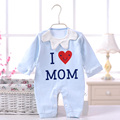 2016 Brand Newborn Clothing long Sleeve cotton baby romper girl boys clothes roupas Spring Autumn Cute 4 colors One-piece YD-001