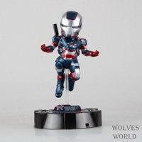 משלוח חינם מעופף יציבה VI איש ברזל איש ברזל קפטן אמריקה PVC איור אוסף פעולה דמויות צעצועי בובות חג המולד