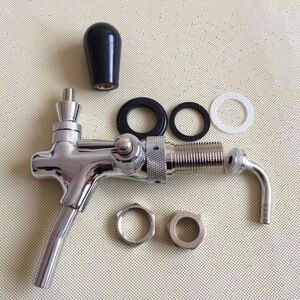 Image 5 - 補償ビールタップ、フロー制御、 wahsers でとホース口、 5/8 「 G