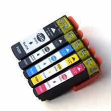 5 Pack T33 33XL T3351-T3354 Ink Cartridge Compatible For Epson Expression Premium XP-530 XP-630 XP-635 XP-640 XP-830 XP-900 2 cyan t410 t410xl new ink cartridge suit for epson expression premium xp 830 xp 530 xp 630 in australia