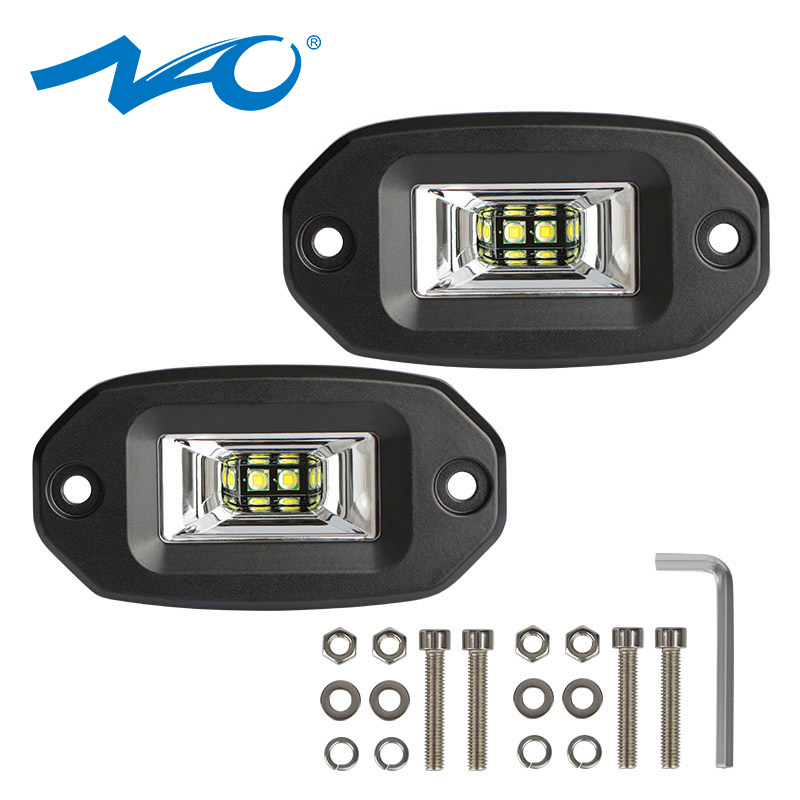 NAO Light-Bar Offroad Car-Accessories Motorcycle 24V for Lada Niva 4x4 12V Led-Beam Auto