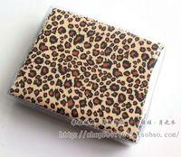 Leopar baskı desen kumaş gözlük temizleme bezi lens temizleme bezi 15*18 cm tek çanta 90-100 adet
