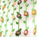 5 шт./лот, украшения для смайликов, войлочная резка, солнечный цветок, плетеная Нетканая ткань, войлочные украшения для детского сада, детско...