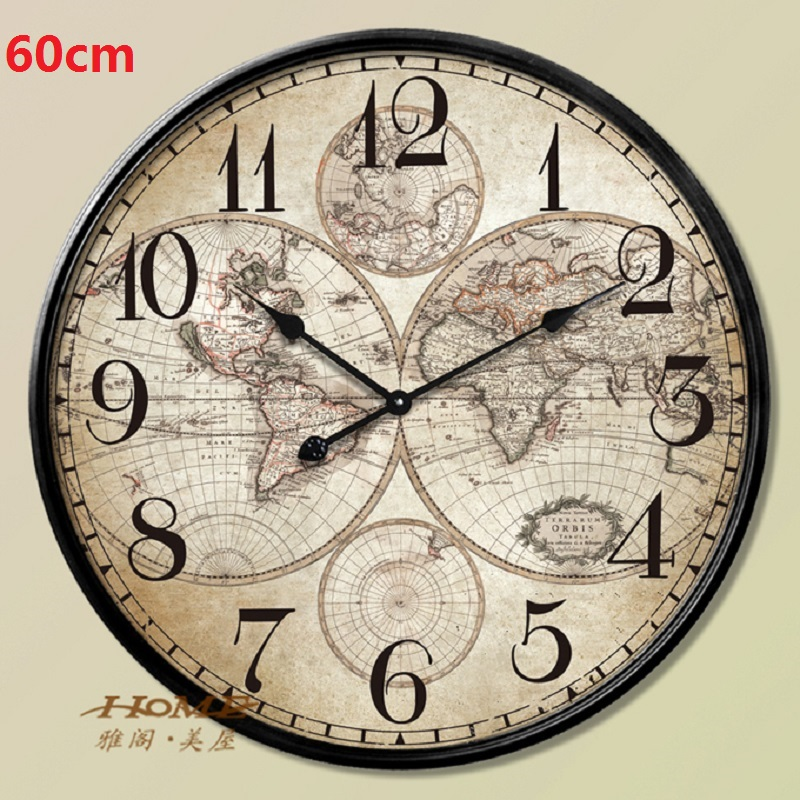 60cm large wall clock saat clock reloj duvar saati relogio de parede 60cm large wall clock saat clock reloj duvar saati relogio de parede metal watch digital clocks horloge murale home decor klok in wall clocks from home gumiabroncs