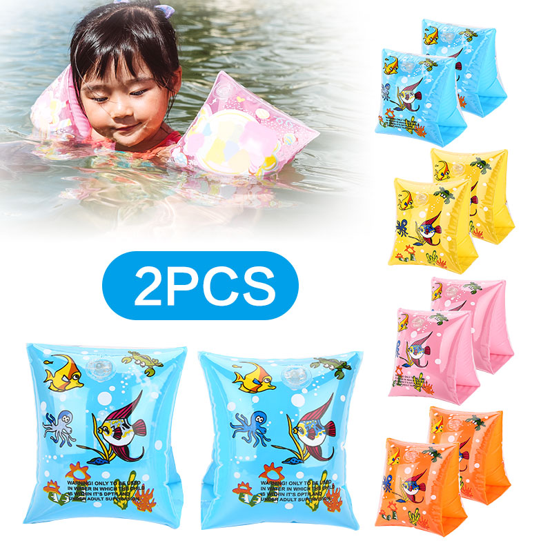 2018 Baby Swimming Circle Arm Float Sleeves Swim Ring Armlets Inflatable Swimming Pool Accessories For Baby Kids Swim Circle