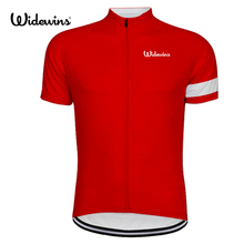 gules Cycling Jersey rap Charges ha Short Sleeve Bicycle Sports Summer red Clothes 6532