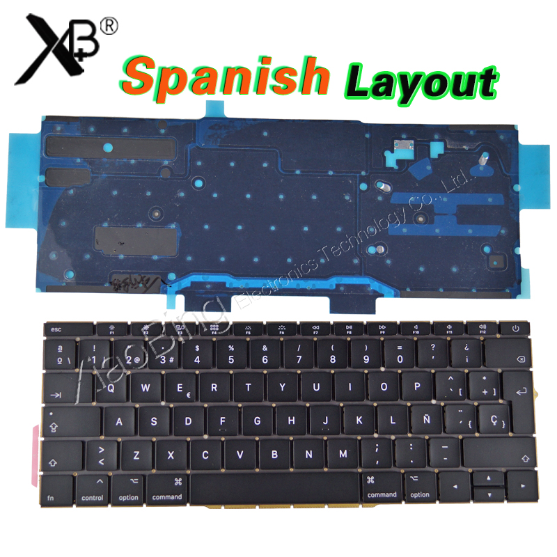 купить New A1708 Spain Keyboard for Macbook Pro 13.3
