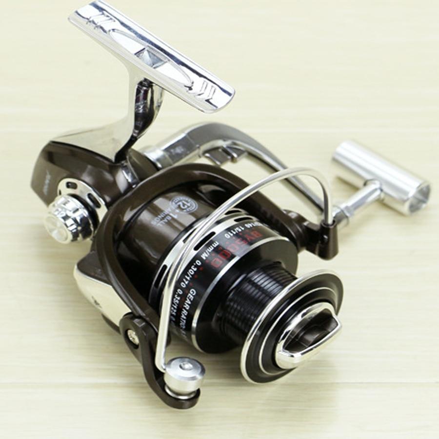 Új BY 3000 - 7000 Spinning orsó 5.5: 1 Zökkenőmentes 13BB teljes - Halászat - Fénykép 3