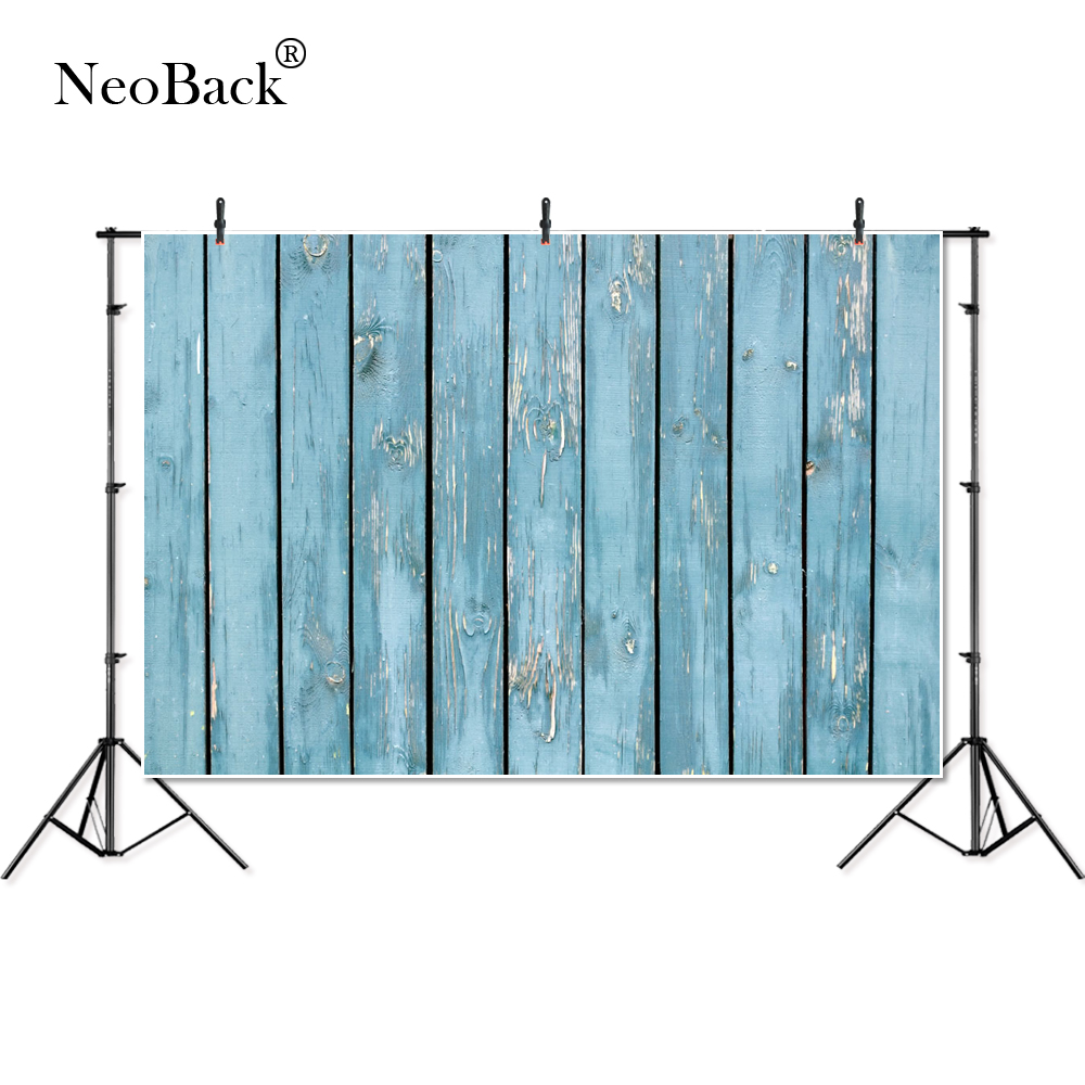 Thin Wood Planks For Walls: Aliexpress.com : Buy NeoBack Thin Vinyl Blue Wood Wall