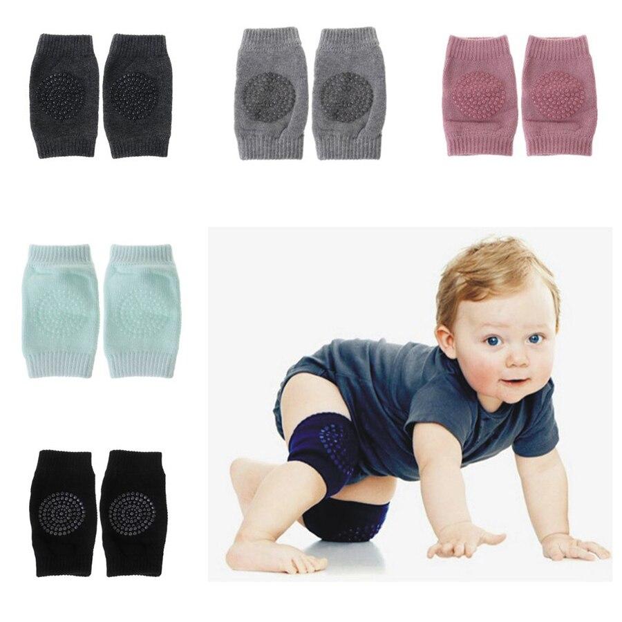 1 Paar Baby Pflege Knie Socken Baby Knie Protector Pads Non Slip Silikon Gel Sicherheit Kriechen Ausbildung Kid Elbow Kissen Atmungsaktiv Stabile Konstruktion