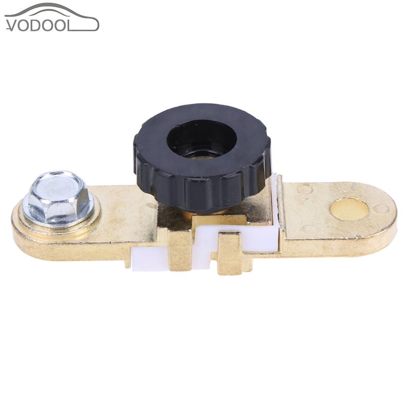 Electrical components,17mm Car Motorcycle Battery Terminal Link Quick Cut-off Switch Rotary Disconnect Isolator Car Truck Auto Vehicle Parts