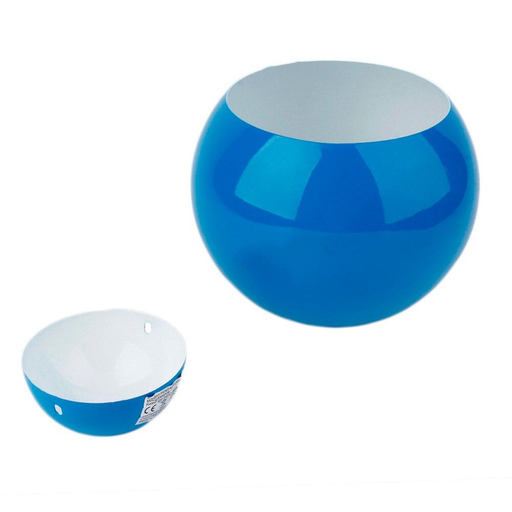 ФОТО 3Pcs new arrival  Blue Metal Dome Retro Style Pendant Light Shade Lampshades Home Decor