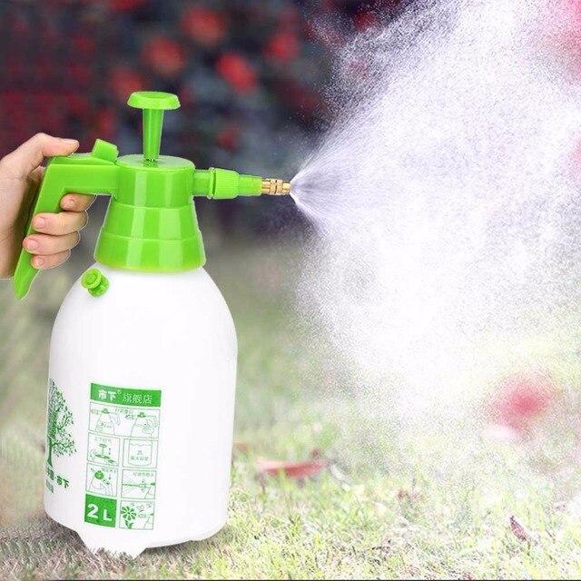 2L Manual Pressurized Water Sprayer Spray Gun Sprinkler Tool Garden ...