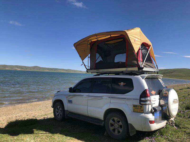 オフロード屋根キャンプテントカースタイリングアクセサリー