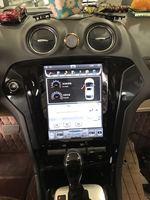 Otojeta Vertical 10.4 Quad Core Android 6.0 2gb ram Car DVD GPS navi radio for Ford Mondeo 2007 2012 headunit multimedia stereo