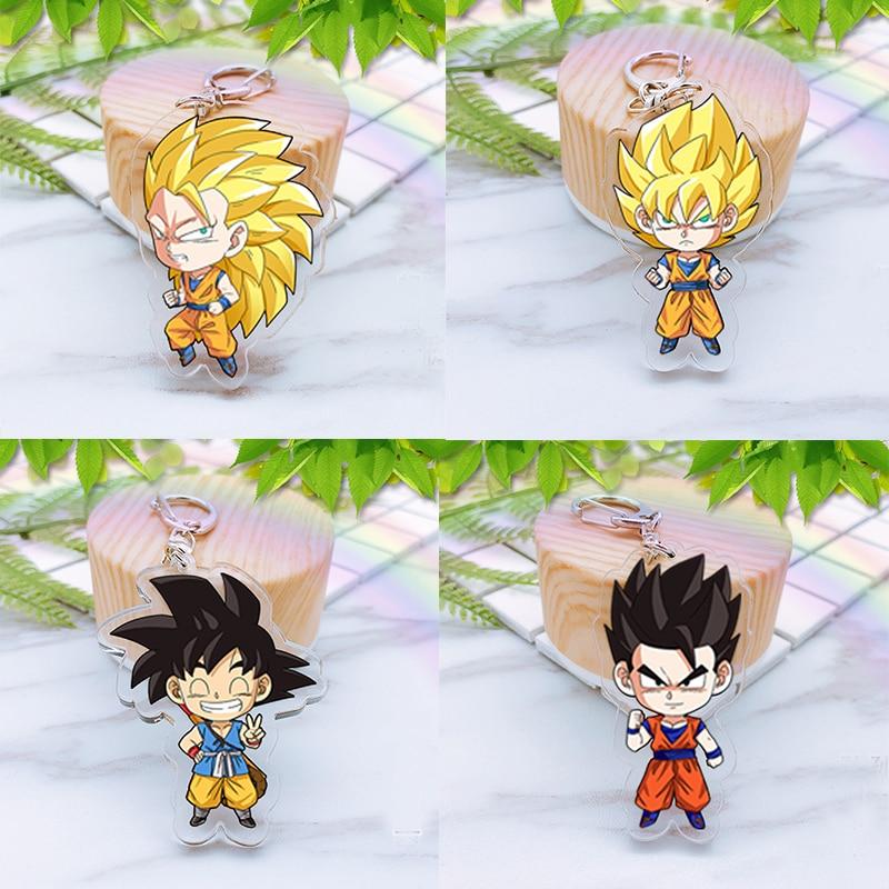 Japan-Anime-Dragonballs-Action-Figure-Acrylic-Bright-Color-KeyRing-two-sided-Figurine-Detective-Kudo-Keychian-toys (2)
