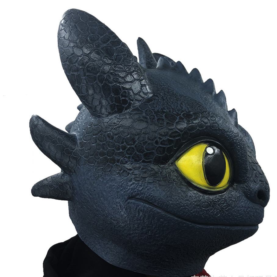 How To Train Your Dragon 3 The Hidden World Toothless Cosplay Halloween Masks