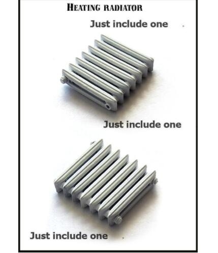 <font><b>1/35</b></font> heating radiator <font><b>Accessories</b></font> <font><b>Resin</b></font> Model Miniature figure Unassembly Unpainted image