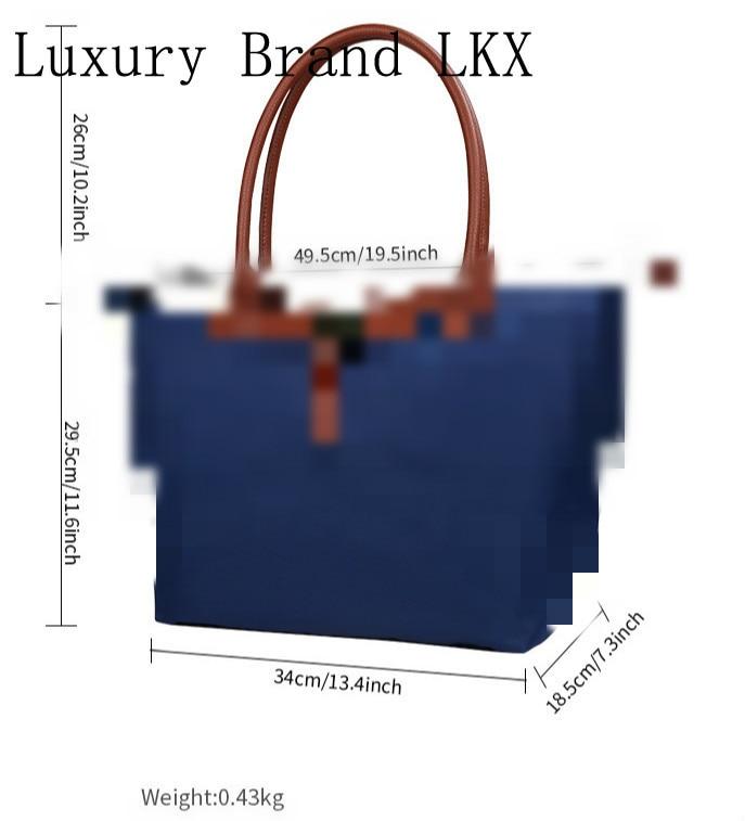 Oxford Dumpling Large Capacity Shoulder Handbag Shopping Tote Bag Hobos Beach Top-handle Bags Designer Handbags(China)