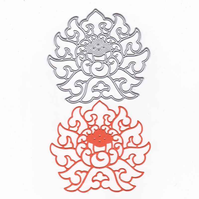 Abstract Metal Cutting Dies Stencil DIY Scrapbooking Album Stamp Paper Card Embossing Crafts Decor